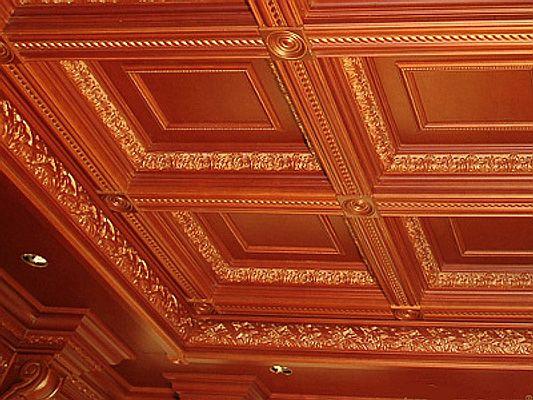 Потолочные плиты (кессоны из полиуретана) другое изображение