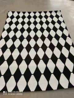 Ковер Almina 126702 black white