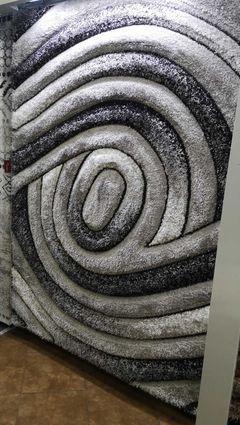 Ковер Ворсистый ковер Art Tria 0100 ivory grey
