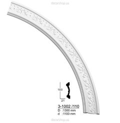 Потолочный бордюр (дуга) Classic Home 3-1002 /110