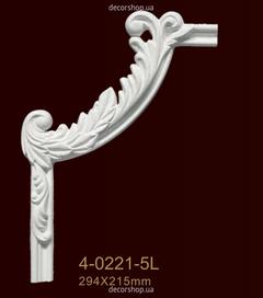 Угловой элемент для молдингов Classic Home 4-0221-5LR