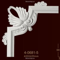 Угловой элемент для молдингов Classic Home 4-0681-5