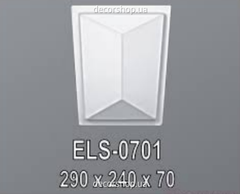 Дверное обрамление Perimeter Потолочный бордюр (дуга) ELS-0701