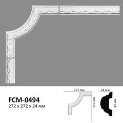 Угловой элемент для молдингов Perimeter FCM-0494