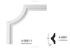 Угловой элемент для молдингов Perimeter FPM-0685C