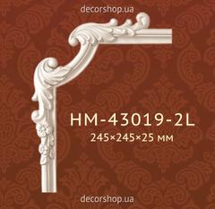 Угловой элемент для молдингов Classic Home HM-43019-2 L/R