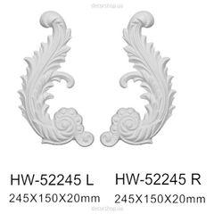 Декоративный орнамент (панно) Classic Home HW-52245 L/R