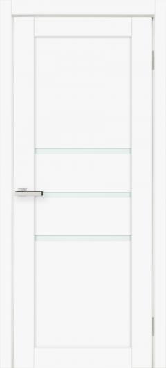 Двери Omis Cortex Deco 06 белый silk matt