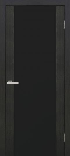 Двери Omis Cortex Gloss дуб wenge triplex чёрный