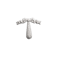 Декоративный орнамент (панно) Европласт 1.60.001