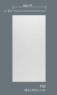 Кессон (потолочная плита) Orac Decor F33