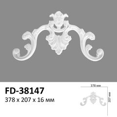 Декоративный орнамент (панно) Perimeter FD-38147