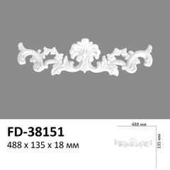 Декоративный орнамент (панно) Perimeter FD-38151