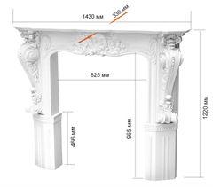 Обрамление камина Perimeter Декоративный камин FPM-1431