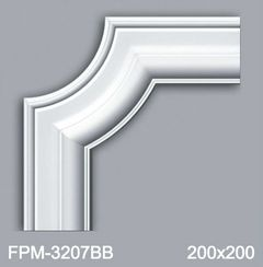 Угловой элемент для молдингов Perimeter FPM-3207BB