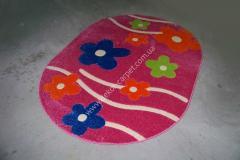 Ковер Детский ковер Fulya 8947 p-pink