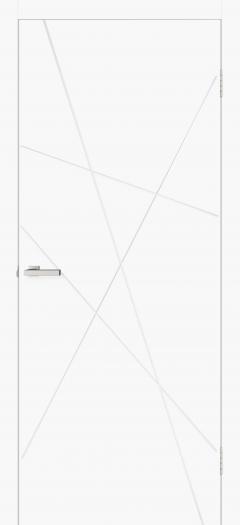 Двери Omis Геометрия 01 белый silk matt