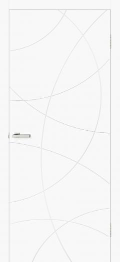 Двери Omis Геометрия 02 белый silk matt