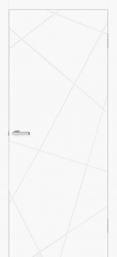Двери Omis Геометрия 03 белый silk matt