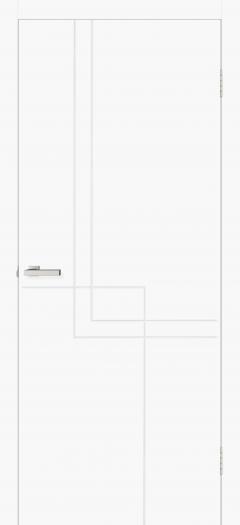 Двери Omis Геометрия 05 белый silk matt