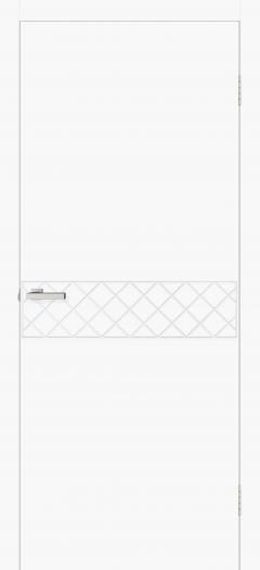 Двери Omis Геометрия 08 белый silk matt
