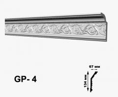 Карниз с орнаментом Glanzepol GP4