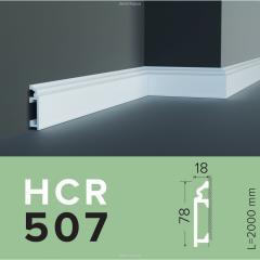 Плинтус из полиуретана Grand Decor HCR 507 (2.44м) Flex
