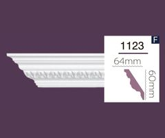 Карниз с орнаментом Home Decor 1123 (2.44м) Flexi