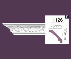 Карниз с орнаментом Home Decor 1126 (2.44м) Flexi