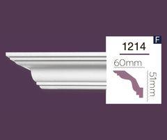 Гладкий карниз Home Decor 1214 (2.44м) Flex