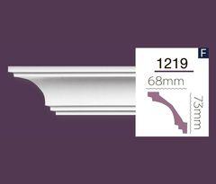 Гладкий карниз Home Decor 1219 (2.44м) Flex