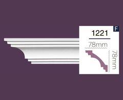 Гладкий карниз Home Decor 1221 (2.44м) Flex