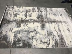 Ковер Стриженный ковер Kalahari W6813 ivory d.grey