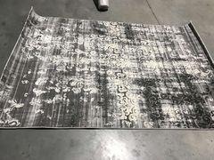 Ковер Стриженный ковер Kalahari W7211 l.grey d.grey