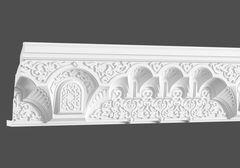 Карниз с орнаментом Европласт 1.50.524