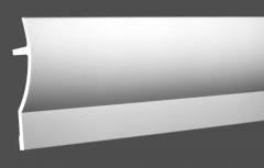 Карниз с орнаментом гибкий Европласт 1.50.227