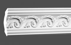 Карниз с орнаментом гибкий Европласт 1.50.290