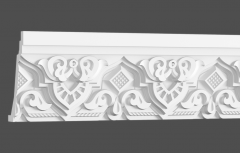 Карниз с орнаментом гибкий Европласт 1.50.503
