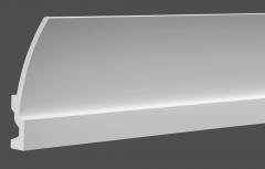Карниз с орнаментом гибкий Европласт 1.50.622