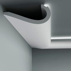 Карниз с орнаментом гибкий Европласт 1.50.710
