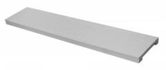 Декоративная панель Decowood Модерн ET 507 (2м) classic белая 10х2