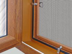 Антимоскитная сетка на окна Золотой дуб