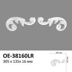 Декоративный орнамент (панно) Perimeter OE-38160LR