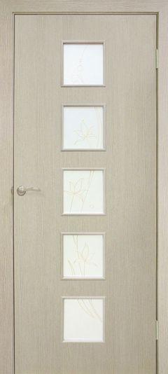 Межкомнатная дверь Omis Альта 5 СС+КР сосна карелия