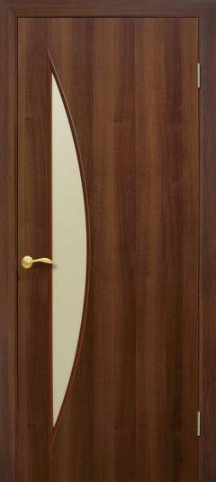 Межкомнатная дверь Omis Парус ПО орех