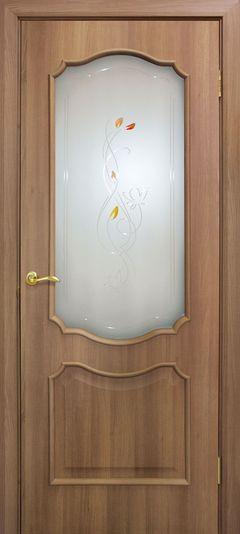 Межкомнатная дверь Omis Прованс СС+КР дуб золотой