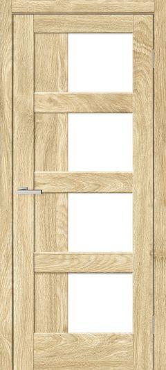 Межкомнатная дверь Omis Рино 08 G NL дуб Саванна