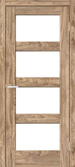 Межкомнатная дверь Omis Рино 10 G NL дуб Ориндж