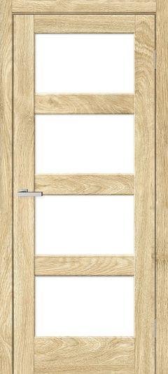 Межкомнатная дверь Omis Рино 10 G NL дуб Саванна