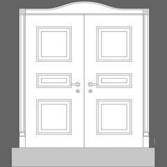 Дверна панель Orac Decor Door Inspiration 5